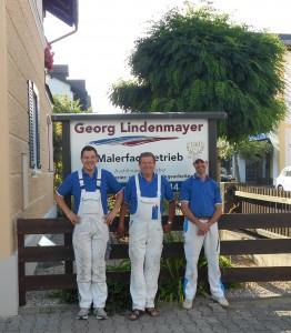 Team Malerbetrieb Lindenmayer